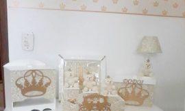 Ideias para decoração de quartos com coroa