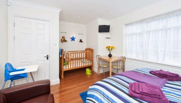 Decoração para quarto de bebê junto com o casal ~ Quarto Casal Junto Com Bebe