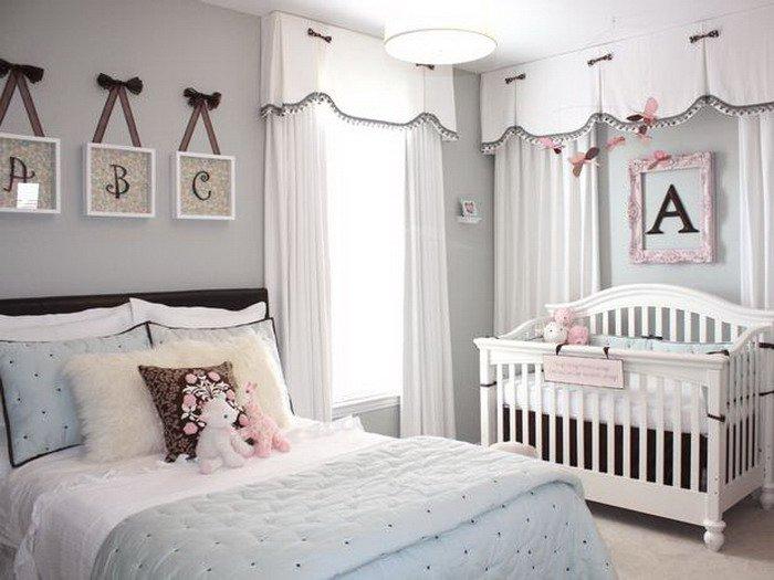 Decora o para quarto de beb junto com o casal for Habitacion bebe moderna