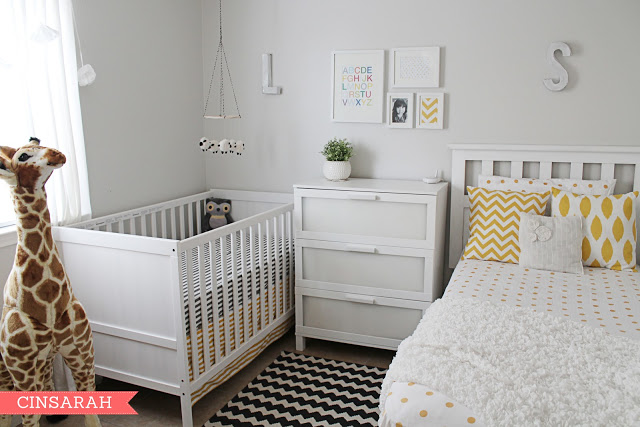Decorau00e7u00e3o para quarto de bebu00ea junto com o casal