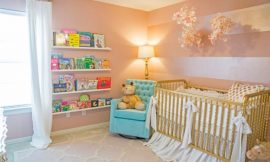 Cores para quartos de bebês tendência em 2016