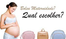 Dicas para escolher a bolsa de maternidade ideal