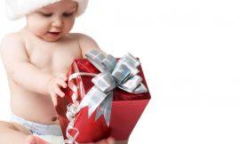 9 ideias de presente de Natal para bebês