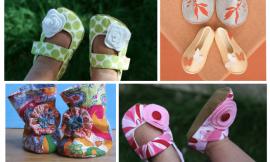 3 Modelos de sapatinhos de bebê para fazer em casa