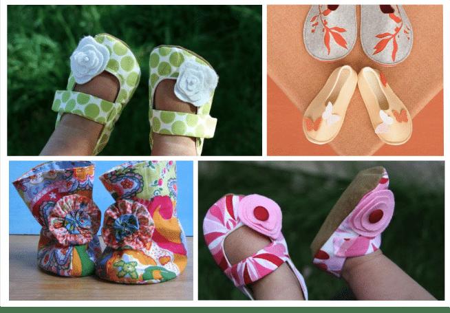 You are currently viewing 3 Modelos de sapatinhos de bebê para fazer em casa