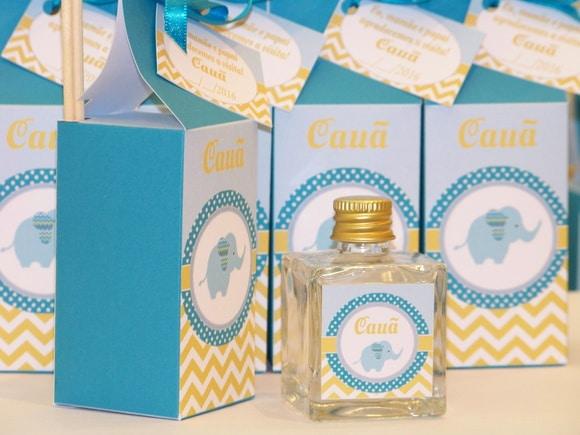 Lembrancinha de maternidade perfume