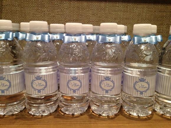 Lembrancinha maternidade água