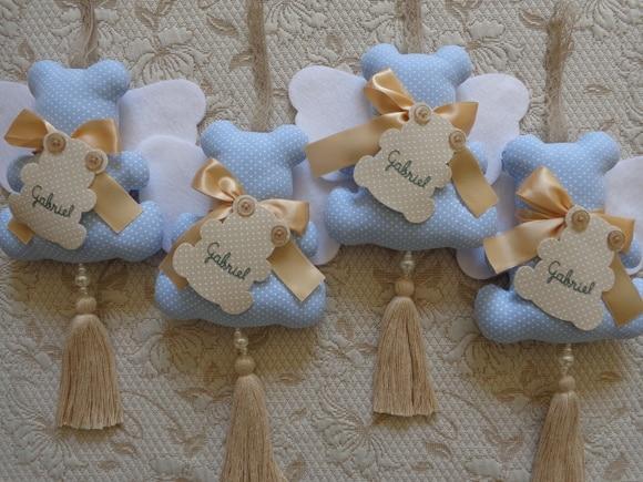 Lembrancinha maternidade de tecido
