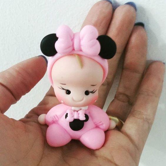 Lembrancinha de maternidade bonequinha