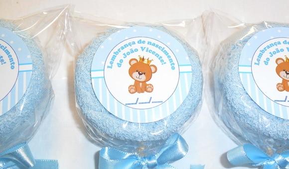 Lembrancinha de maternidade toalhinha