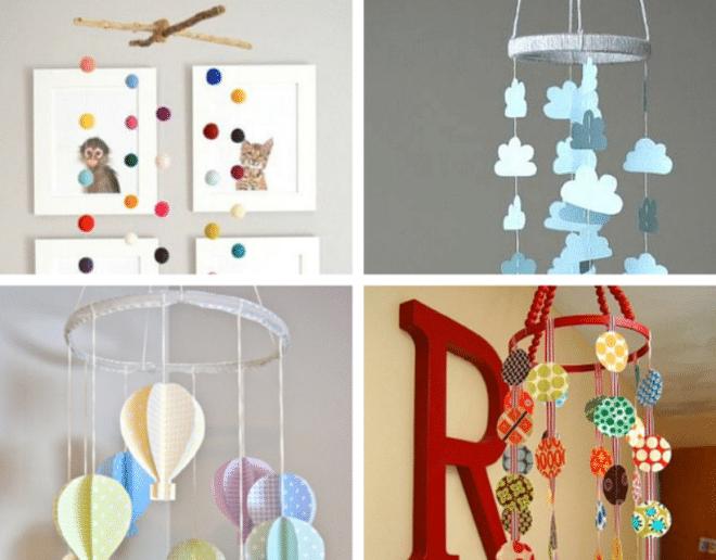 Decoração de quarto de bebê simples e barata