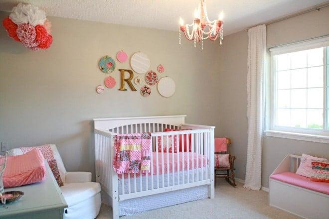 paredes de quarto de bebe decoradas