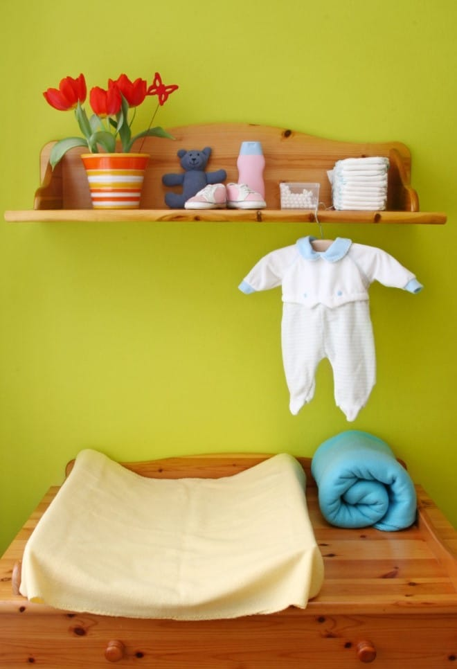 decoração para quarto de bebe artesanal