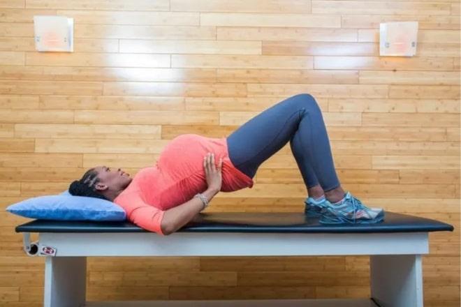 exercicio para aliviar as dores da gravidez 10
