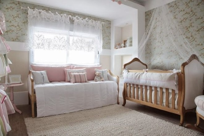 15 quartos de bebê estilo provençal