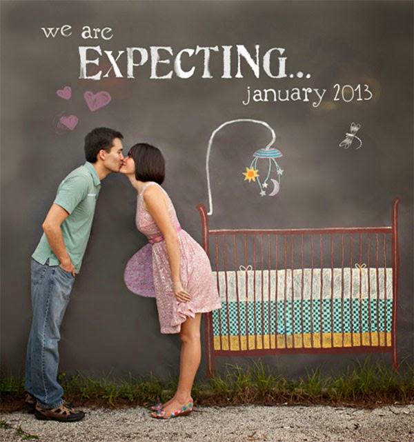 anuncio da gravidez
