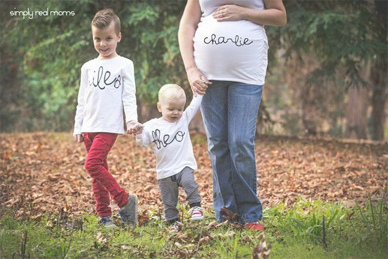 como anunciar gravidez a familia