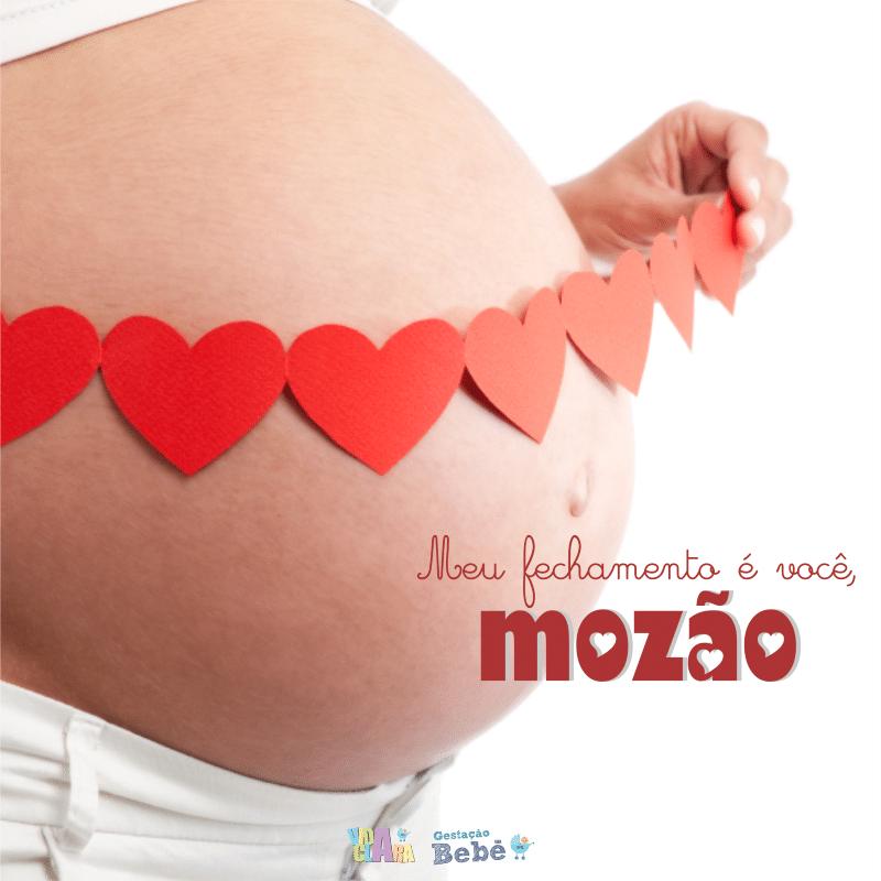 mensagens para gravidas