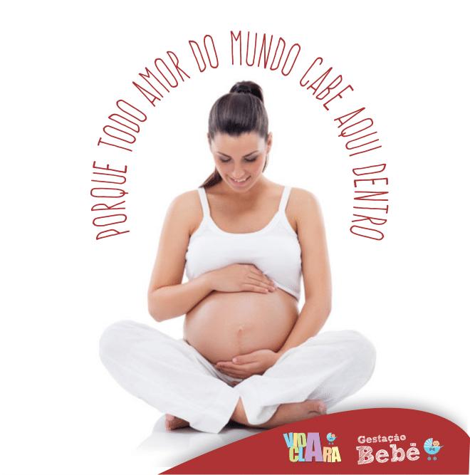Frases de grávidas para face