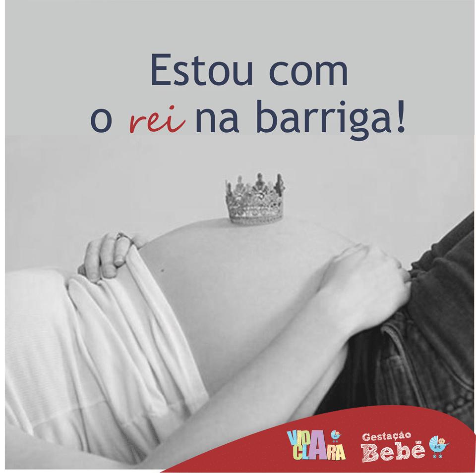 Mensagem para gravidas com imagem
