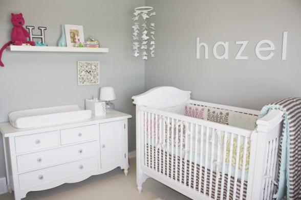 Como arrumar quarto de bebê com pouco espaço? ~ Cores Para Quarto De Bebe Verde