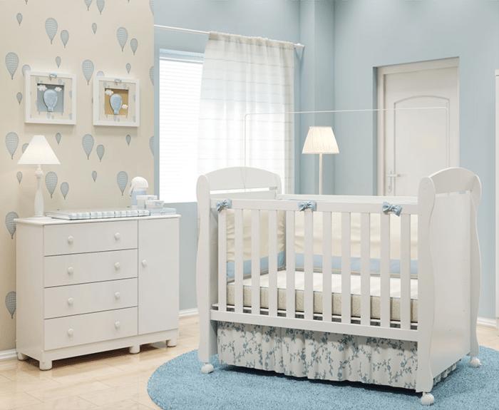 Como arrumar quarto de bebê com pouco espaço?