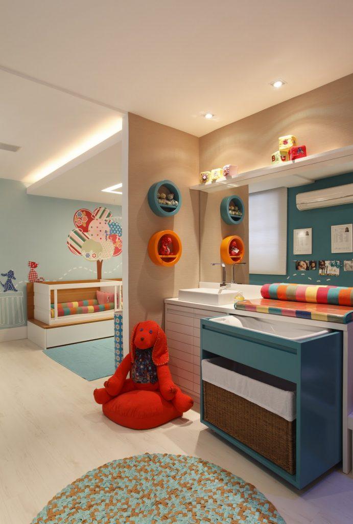 nichos para quarto do bebe