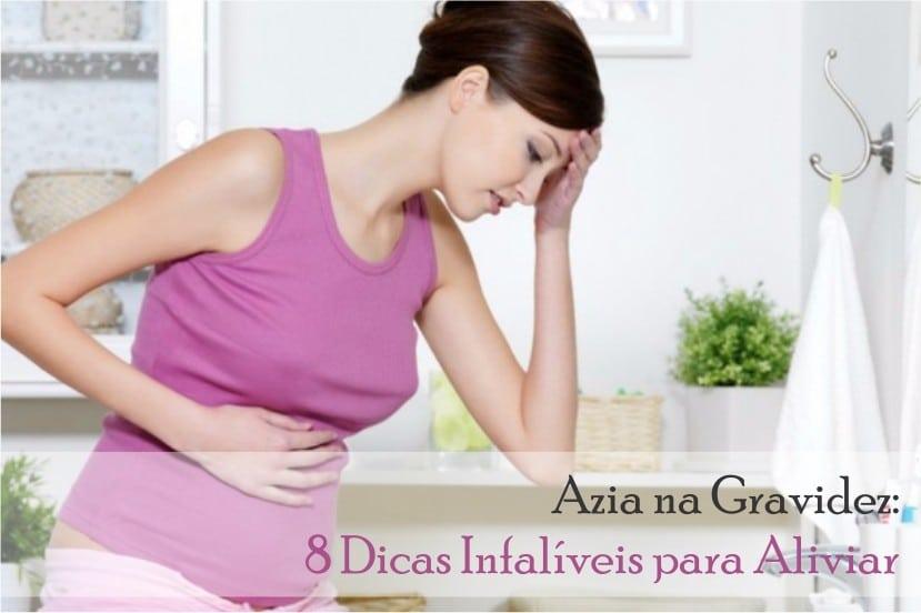 Azia na gravidez dicas