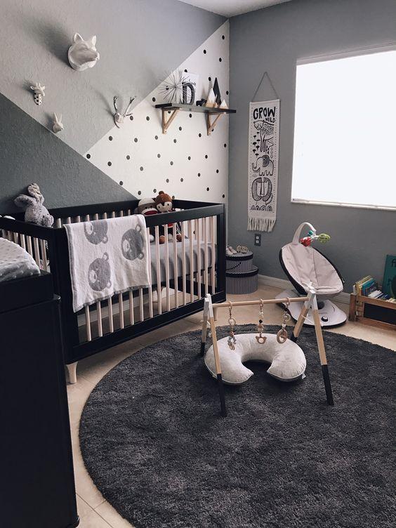 decoração parede quarto bebe