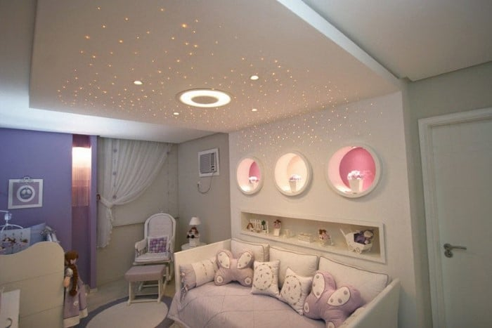 nichos para decoracao quarto de menina