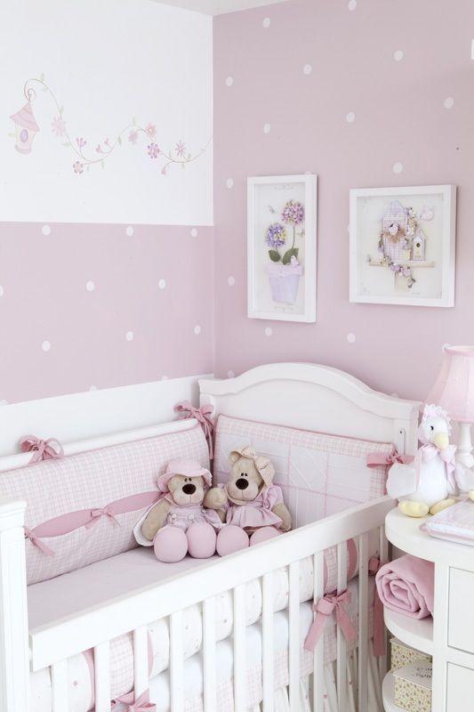 decoração de quarto de bebe simples e pequeno