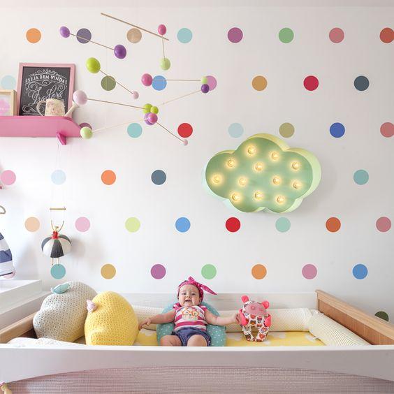 decoração quarto bebê menina