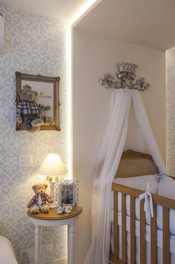 decoração para quarto de bebe menina