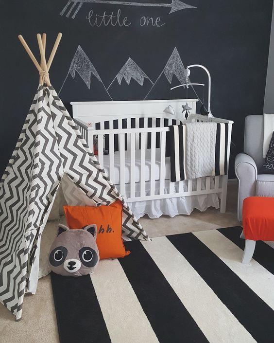 decoração de quarto bebe masculino