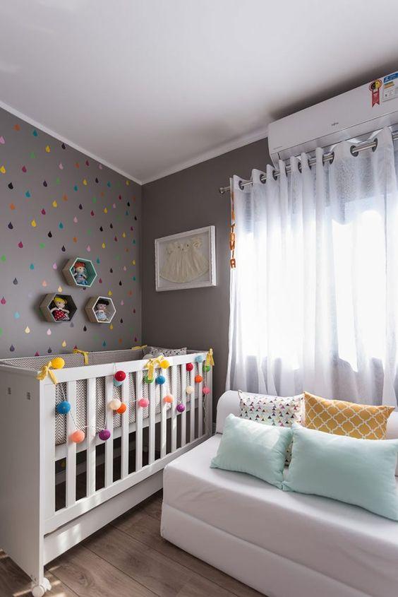 decoração de quarto de bebe masculino