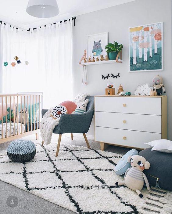 decoração de quarto de bebe com eva
