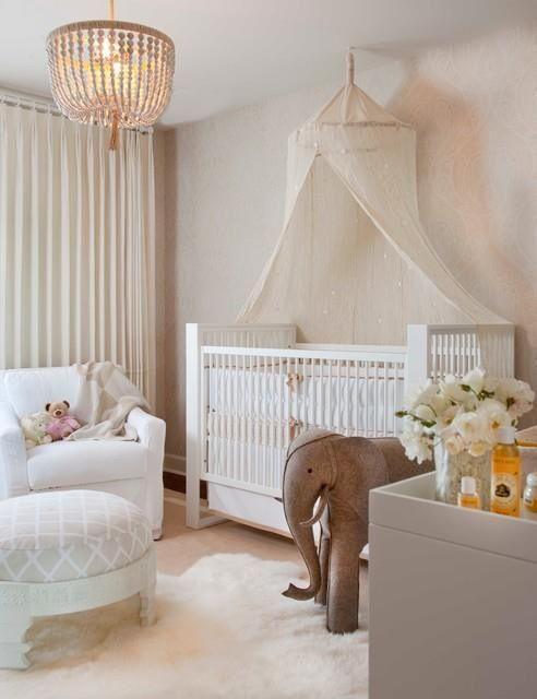 decoração quarto bebe feminino rosa marrom