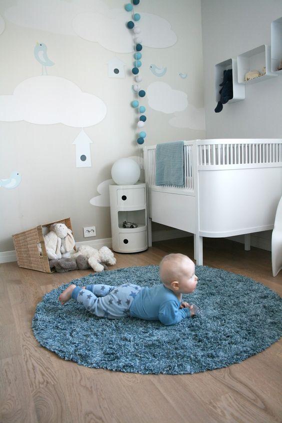 decoração quarto bebe pequeno