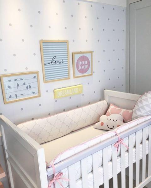 decoração simples quarto de bebe