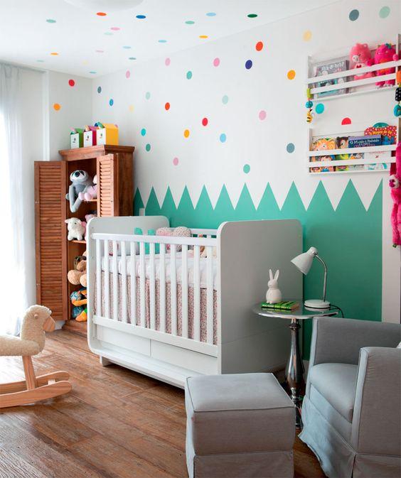 decoração com nichos quarto de bebe