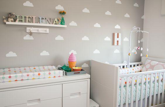 decoração para quarto de bebe simples e barato