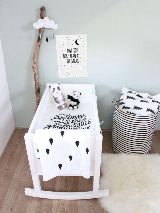decoração quarto de bebe pequeno