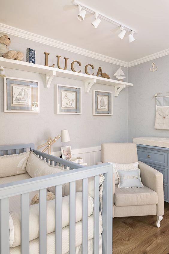 decoração do quarto de bebe