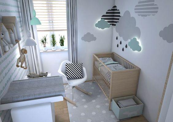 quarto de bebe decorado feminino