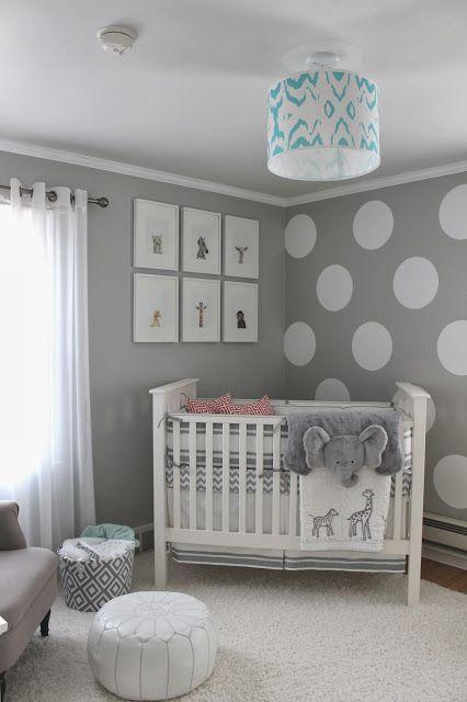decoração simples de quarto de bebe