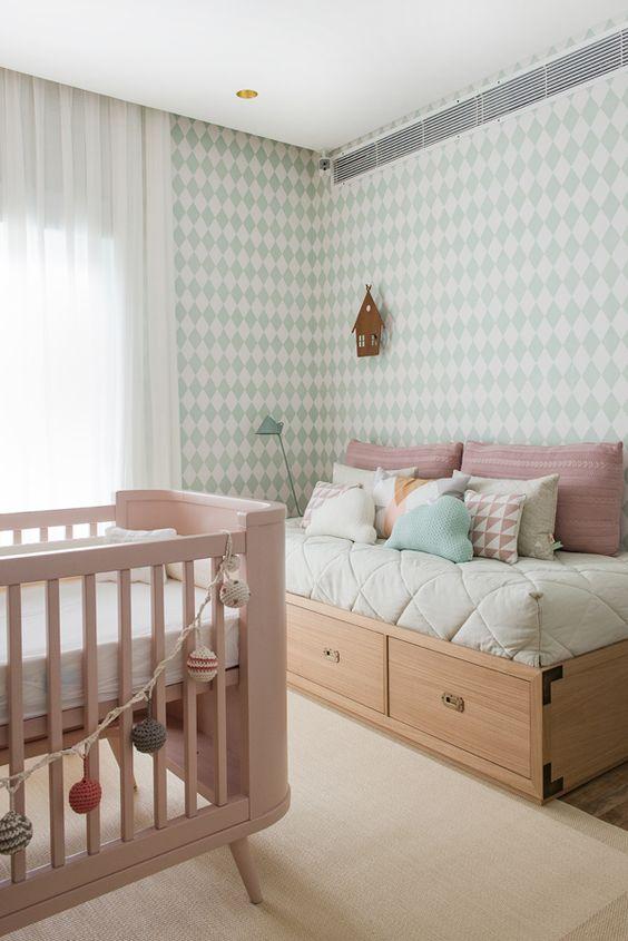 decoração de quarto bebe menina