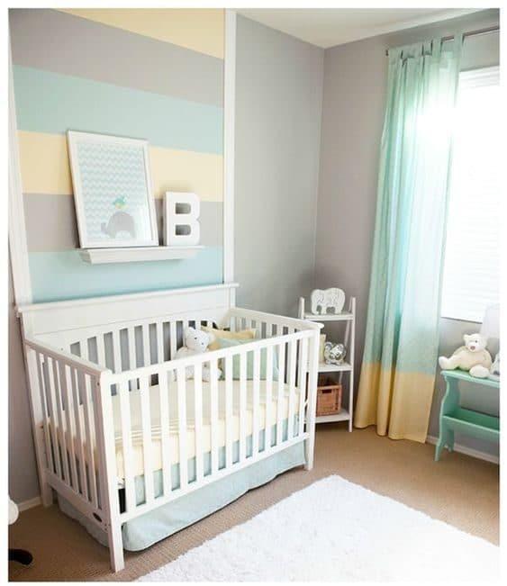 decoração de quarto de bebe ursinho marinheiro