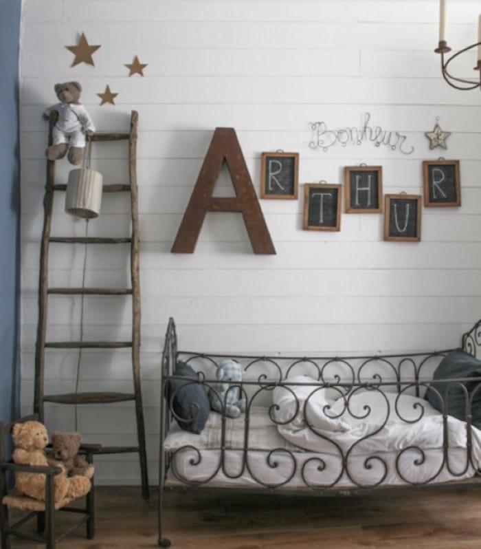 Ideias de decoração para quarto de bebê 2017 ~ Quarto Rustico De Bebe