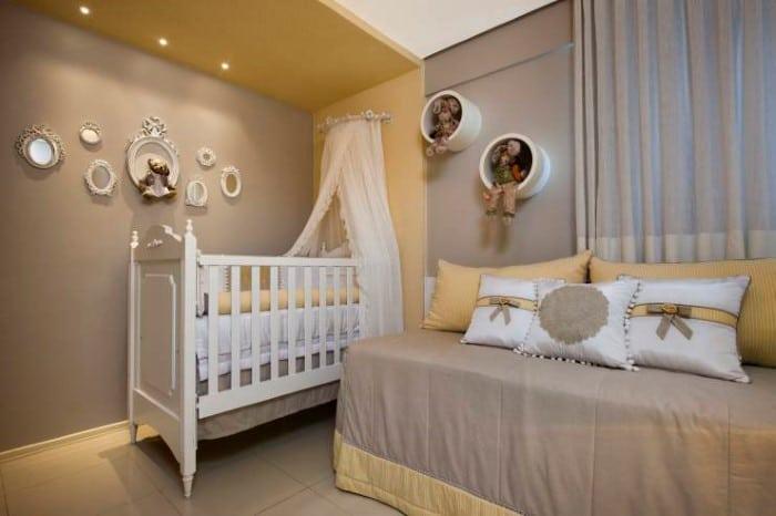 Os Nicho De Bebe ~ Decoraç u00e3o com nichos para quarto de beb u00ea