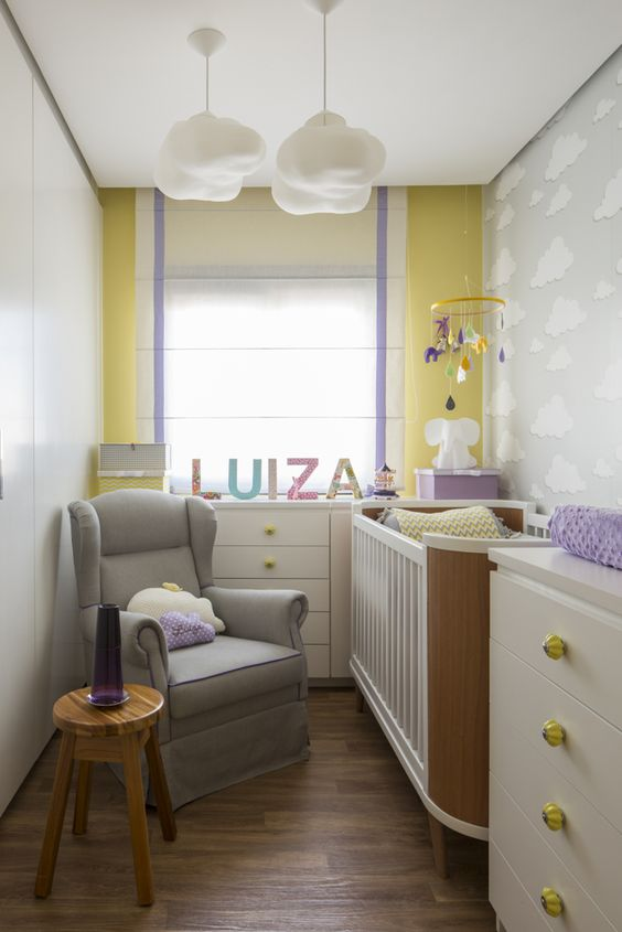 decoração de quarto de bebe masculino fotos